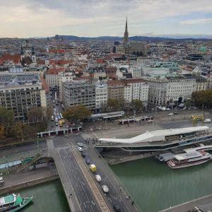 VIENNA/ SO/VIENNA Wien von oben ____________________ #goodmorningvienna #wienvonoben #schwedenplatz #mottoamfluss #vienna_city #viennanow #wiennurduallein ...