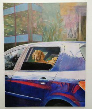 #birgitmegerle #theyearoff #emanuellayr #vienna Galerie Emanuel Layr