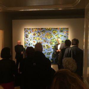 #opening #gunterdamisch @galeriehilger - thank you Dr. Klaus Albrecht Schröder, Albertina Vienna, thank ...