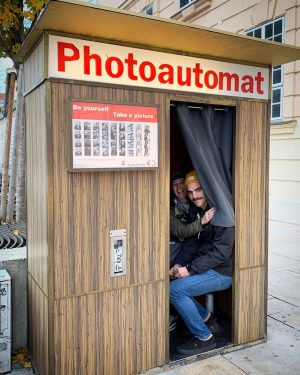 A couple a cuties in the Photoautomat 😍#photobooth #friends #favorites MQ – MuseumsQuartier ...