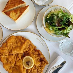 So blessed to call this lunch. 🙌🏼 #schnitzellove⁠ .⁠ REPOST FROM @nicolette_s_au⁠ .⁠ ...