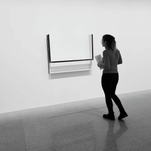 This is art ⬜ Mumok, Museum of Modern Art, in Vienna.