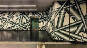 U-Bahn Station Karlsplatz, Wien (U-Bahn Kunst in Wien) #vienna #wien #österreich #austria #viennaisdifferent ...