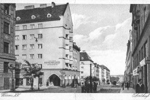 (1929/ÖNB/wienerwohnen.at) Eberthof Die Wohnhausanlage befindet sich am Rande des so genannten Nibelungenviertels, das ...