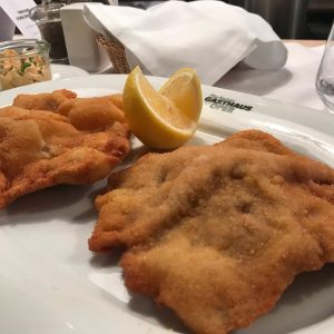 Lunch was at the highly recommended #plachuttasgasthauszuroper with their uber delicious #wienerschnitzel and ...