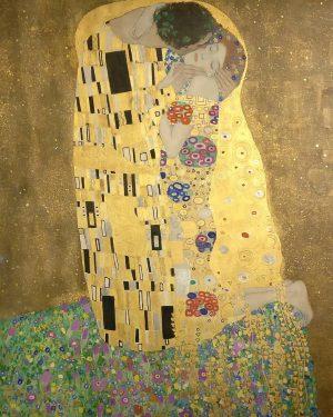 En Viena vi esta joyita de Klimt. Belvedere Museum