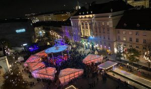 On top of @mqwien #wintererwachen #winterimMq MQ – MuseumsQuartier Wien