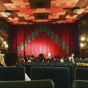 Immer noch einer der schönsten Kinosäle, #gartenbau #viennale