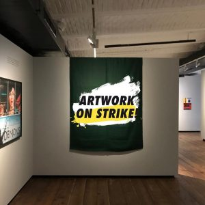 Artwork On Strike 🖼📢 Today on the occasion of the global climate strike ...