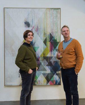 """From our current group exhibition """"die weisse ab-haus-verkaufs-kunstschau"""" #06:  IRENA EDEN and STIJN LERNOUT (@stijnlernout) ..."""