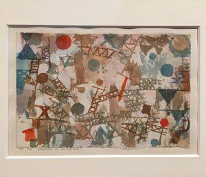Paul Klee, Thoughts of battle, 1914 #deutschexpressionismus Leopold Museum