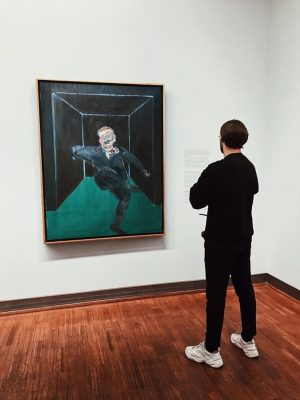 INSPIRATION #new #somethingnewiscoming #art #artist #paint #painter #contemporaryart #contemporarypainting #vienna #albertina #francisbacon #museum #exhibition #artexhibition #canvaspainting #inspiration...
