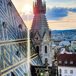 🙏 @annalovesvienna ・・・ Hello Vienna and happy weekend! This view never gets old 😍 #vienna #viennanow #wien...