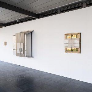 Andreas Fogarasi at the @kunsthallewien #kunsthalle #museum #vienna #austria Nine Buildings, Stripped (Rinterzelt) Installation view: Andreas Fogarasi....