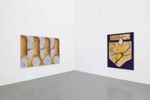 """Installation views of Anne Speiers solo exhibition """"Der Spass an der Arbeit"""" at ..."""