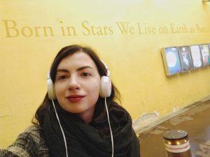 Born in stars we live on Earth as poets. Музейний квартал поки що ...