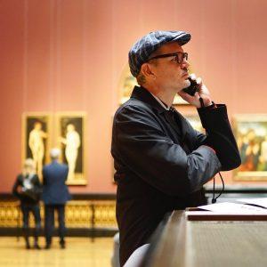 """Die Kollegen nennen es """"Podcasts von Bildern im Kunsthistorischen Museum Wien"""". #sixseasons . #khm #oe1hoerspiel #oe1podcast #kunstprojekt..."""
