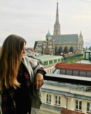 🖤#vienna #austria #lameerooftop LAMÉE ROOFTOP