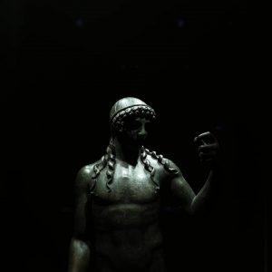 apollon 1st century bc #vienna #museum #arthistory #khm #permanent #exhibition #roman #brass #figure ...