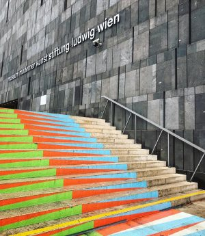 COLORFUL • STAIRS MQ – MuseumsQuartier Wien