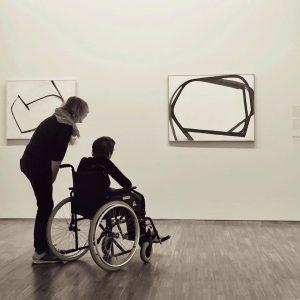 Great show ——————————————————- #marialassning #albertina #wien #vienna #exhibition #museum #bodythatmatters #albertinamuseum Albertina Museum