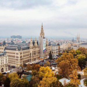Was für ein Blick auf das Rathaus. #Wienliebe #igersvienna Rathaus