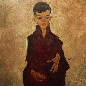 Portrait of Herbert Rainer- Egon Schiele 🎨 #art #arthistory #artvienna #museum #artmuseum #belvedere ...