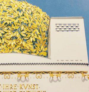 Una cupola rivestita di foglie d'oro è il simbolo della Secessione. #secessionvienna #secessionbuilding ...