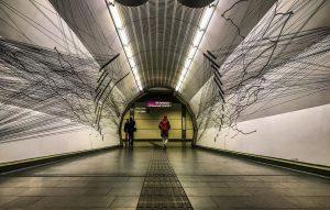 U-Bahn Station Schottenring, Wien (U-Bahn Kunst in Wien) #vienna #wien #österreich #austria #viennaisdifferent #wienistanders #meinwien #viennaisdifferent #wienmeinestadt...