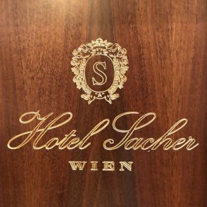 Famous Sacher hotel in Vienna has his absolutely unique atmosphere, location and chocolate ...