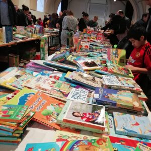 Advent Bazaar at MQ Books, books, tombola, cakes, magician and Santa is there!! ...