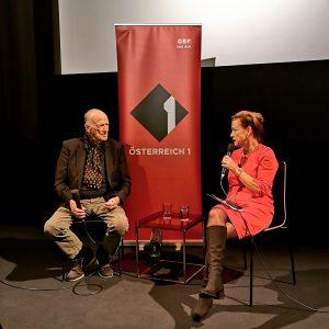 ➡️ Wolfgang Kohlhaase im Gespräch mit Renata Schmidtkunz nach dem Screening von BERLIN - ECKE SCHÖNHAUSER... anlässlich...