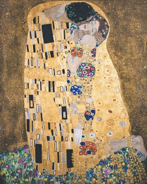 So much beauty 💛 Gustav Klimt ✨ The Kiss ✨ Poppy Field ✨ ...