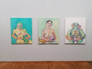 If you have not seen the Lassnig exhibition @albertinamuseum yet, then it's your last chance to visit!...