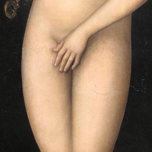 Eve #lucascranachtheelder Kunsthistorisches Museum Vienna