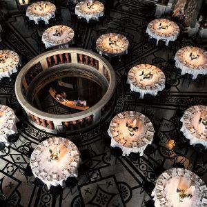 Die Kuppelhalle im Kunsthistorischen Museum Wien eignet sich besonders für ein Gala Dinner ...