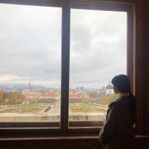 벨베데레,, 봉지까지 소중해 #wien #belvedere #klimt Belvedere Museum