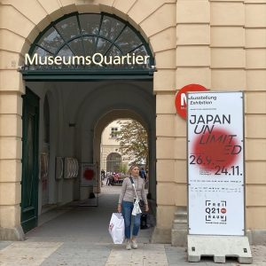 "I visited this exhibition ""Japan UnIimited"" in Vienna in September. I thought it's ..."