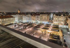 Unser #Wienblick zeigt heute den Karmelitermarkt bei Nacht. 🤩 Er zählt 7.500 BesucherInnen pro Woche und gilt...