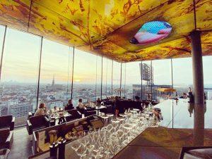 Das LOFT - what a gaff! #Vienna #Austria #RooftopBar 🇦🇹🌇🍸🎨 Das LOFT Restaurant Bar & Lounge