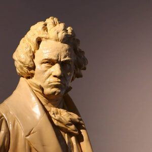 At Beethoven's house in Heiligenstadt, one can see even his death mask. #beethoven ...