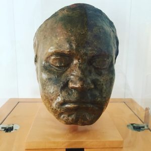 Beethoven's lifemask. So cool! Wien Museum Beethoven Pasqualatihaus