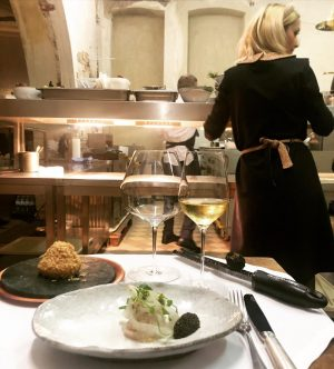 : Grand Kobel, 2nd Day, Chef's Table🍴 @taubenkobel.austria #popup #grandkobel #finedining #chefstable #vienna Donauhof