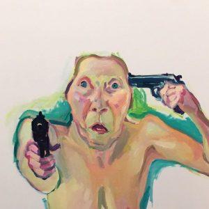 Wie @instagram Lassnig sieht. . . #mood #marialassnig #albertina #albertinamuseum #women #artist #art #nonipples Albertina Museum