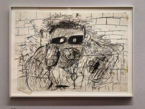 Instawalk - Albertina - #APassionForDrawing . Tim Dog, 1992 . #APassionForDrawing #GuerlainCollection #AlbertinaMuseum #Albertina #exhibition #museum #emptymuseum...