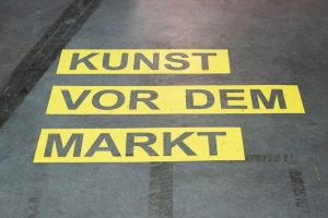 "💫 FINISSAGE 💫 TODAY is the last day of our exhibition: ""die weisse ab-haus-verkaufs-kunstschau"" #06  WE..."