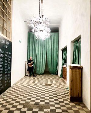 Grand Kobel in Grand Vienna . . #grandkobel #vienna #viennafood #viennafoodie #taubenkobel #popup ##accidentalwesanderson Donauhof