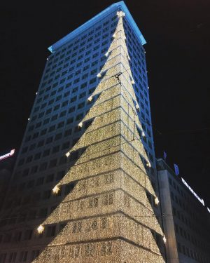 Christmas lights ✨✨ #wien #trip #beautiful