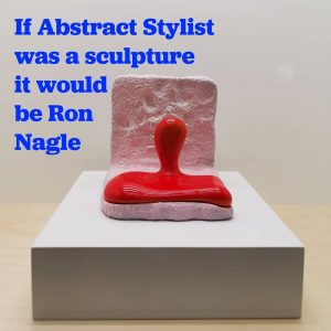 Definitely Ron Nagle ❤️ . Hurry up, you can still visit his solo ...