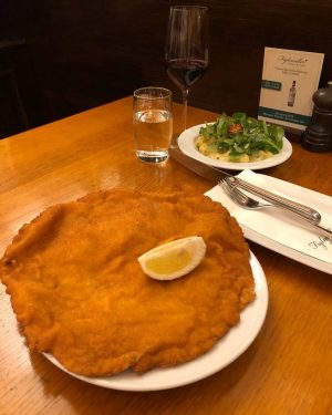 Vienna this weekend was lots of fun, but the Schnitzel at @figlmueller was epic.. as usual.. The...